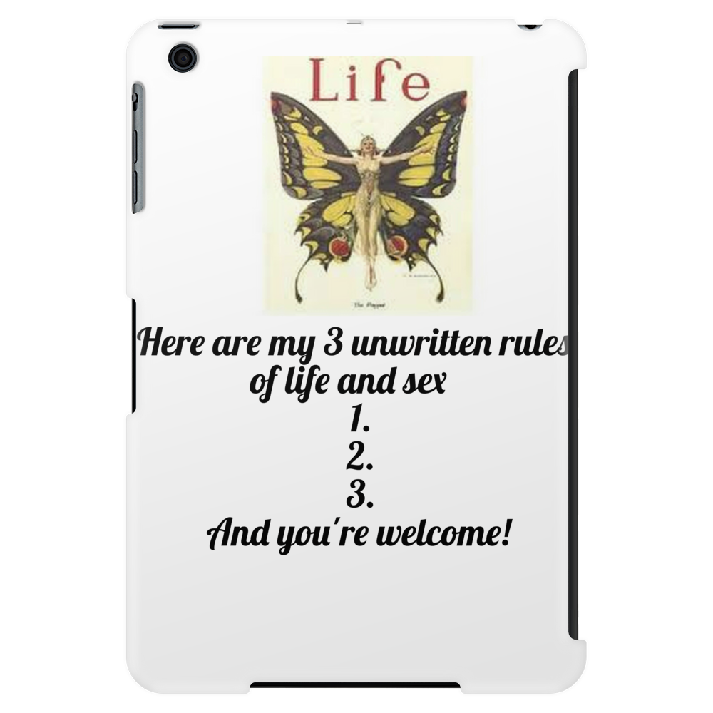 Here are my # Unwritten Rules 1.2,3, And you're welcome Tablet (vertical)