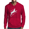 Here Hare Here Monty Python Mens Hoodie