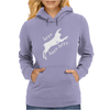 Here Hare Here Monty Python Womens Hoodie