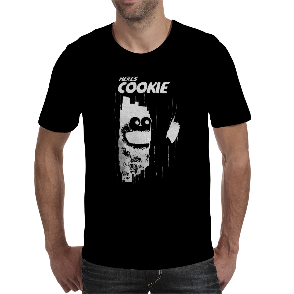 here's Johnny Cookie Mens T-Shirt