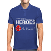Hero Daughter - Firefighter Mens Polo