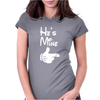 He's Mine She's Mine Womens Fitted T-Shirt