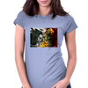 heven vs hell the crow vs spawn Womens Fitted T-Shirt