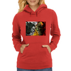 heven vs hell the crow vs spawn Womens Hoodie