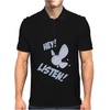 Hey Listen! Mens Polo