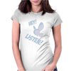 Hey Listen! Womens Fitted T-Shirt