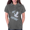 Hey Listen! Womens Polo