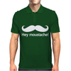 Hey Moustache! Mens Polo