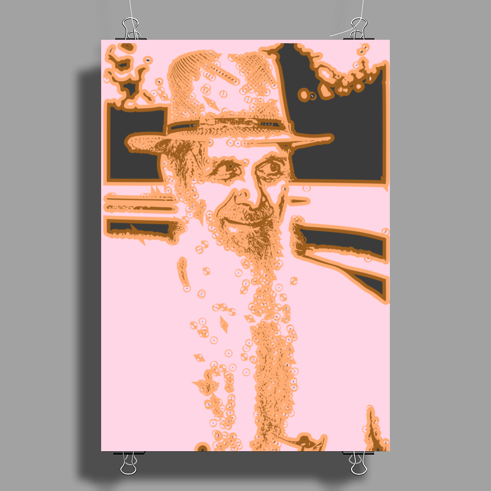 Hey Old Man Poster Print (Portrait)