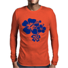 Hibiscus Flowers Mens Long Sleeve T-Shirt