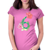 Hibiscus No.6 Womens Fitted T-Shirt