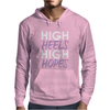 High Heels High Hopes Mens Hoodie