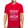 High Heels High Hopes Mens Polo
