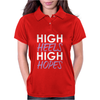 High Heels High Hopes Womens Polo
