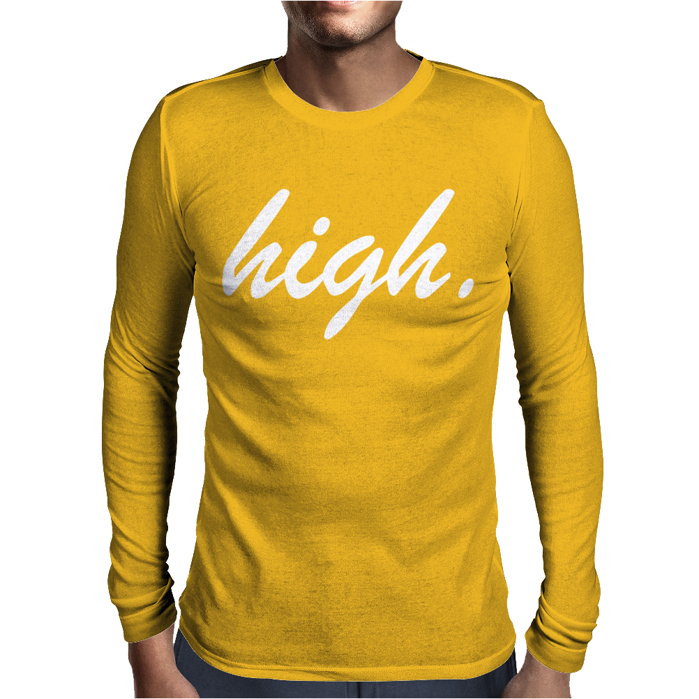 HIGH Mens Long Sleeve T-Shirt