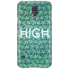 HIGH TYPO! Cannabis / Hemp / 420 / Marijuana  - Pattern Phone Case