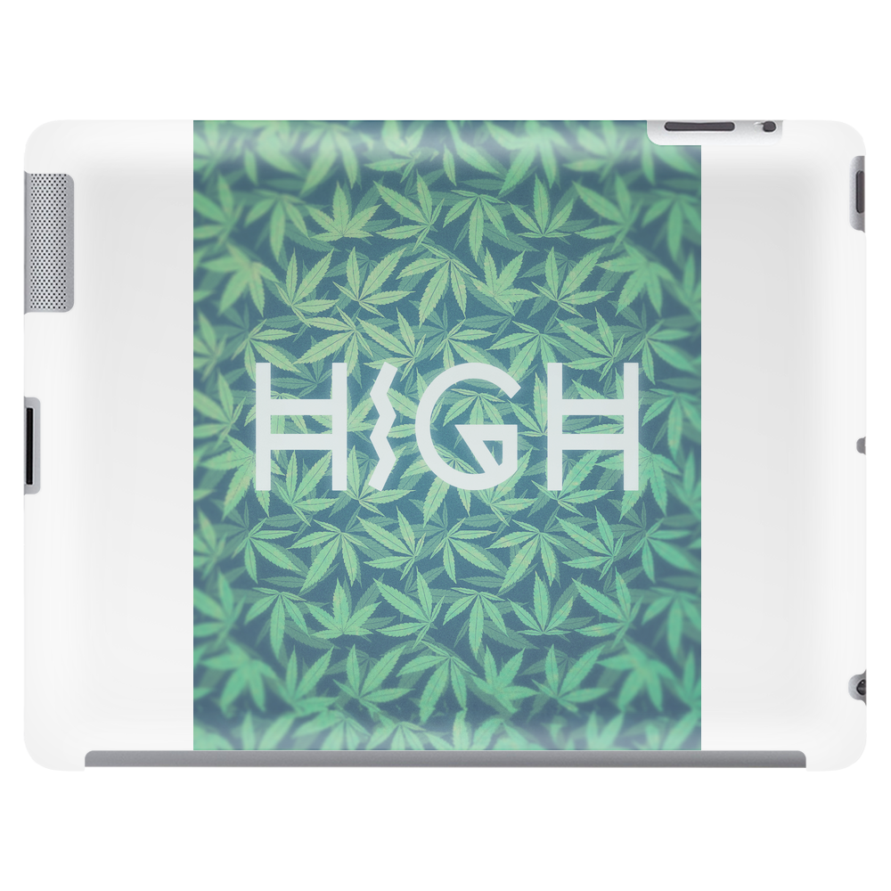 HIGH TYPO! Cannabis / Hemp / 420 / Marijuana  - Pattern Tablet