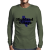 Highland Village Texas Mens Long Sleeve T-Shirt