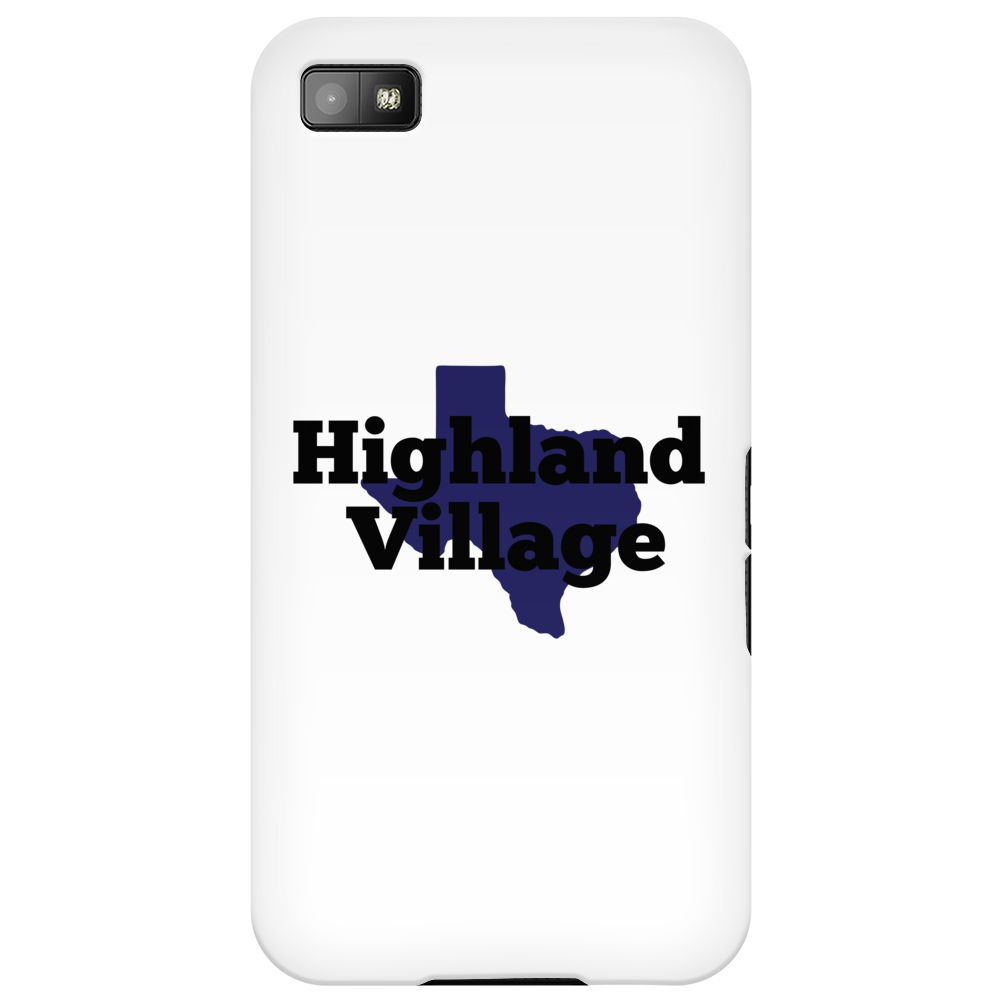 Highland Village Texas Phone Case