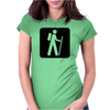 Hiking Womens Fitted T-Shirt