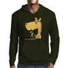 Hilarious Horse Playing Chess Mens Hoodie