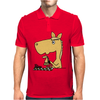 Hilarious Horse Playing Chess Mens Polo