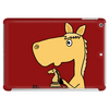 Hilarious Horse Playing Chess Tablet