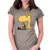 Hilarious Horse Playing Chess Womens Fitted T-Shirt