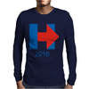 Hillary Clinton 2016 Mens Long Sleeve T-Shirt