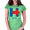 Hillary Clinton 2016 Womens Fitted T-Shirt