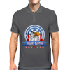 Hillary Clinton for president 2016 Eagle Head 3 Mens Polo