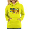 Hillary Clinton For President 2016 Womens Hoodie