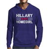 Hillary Is My Homegirl Funny Mens Hoodie