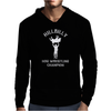 Hillbilly Hog Wrestling Champ Mens Hoodie