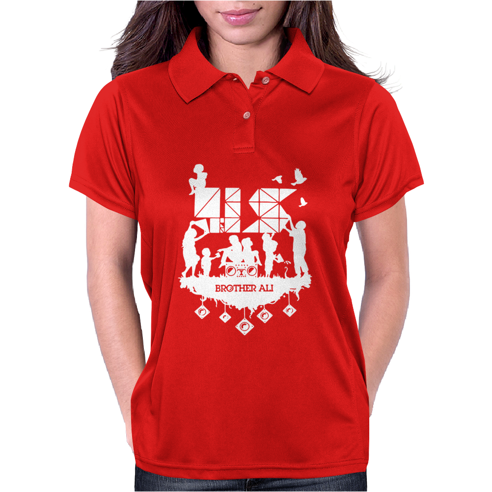 Hip Hop Brother Ali New Womens Polo