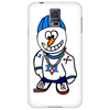 Hip Hop Rapper Snowman Phone Case