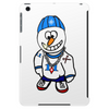 Hip Hop Rapper Snowman Tablet (vertical)
