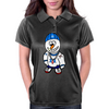 Hip Hop Rapper Snowman Womens Polo