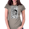 Hiphop-dimension Womens Fitted T-Shirt