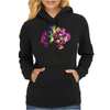 Hippie Peace Tree Womens Hoodie