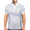 Hippo stripes Mens Polo