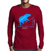 Hippotenuse Math Mens Long Sleeve T-Shirt