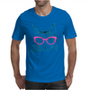 Hipster Cat Mens T-Shirt