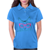 Hipster Cat Womens Polo