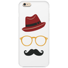 Hipster Face Phone Case