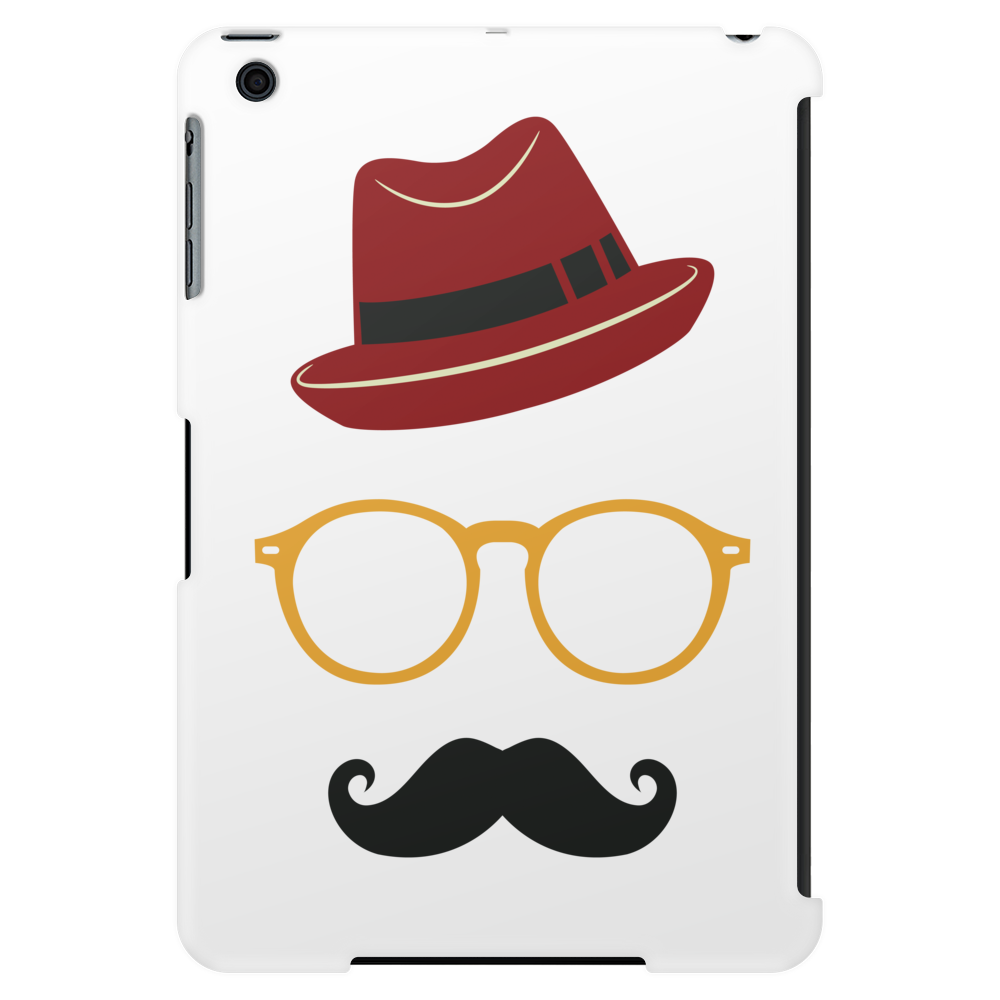Hipster Face Tablet