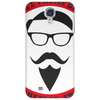 hipsters black Phone Case