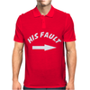 His Fault Mens Polo