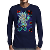 His Power within +Silver the Hedgehog+ Mens Long Sleeve T-Shirt