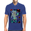 His Power within +Silver the Hedgehog+ Mens Polo
